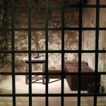 inside view old prison cell