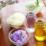 essential oil bath salts aromatherapy items